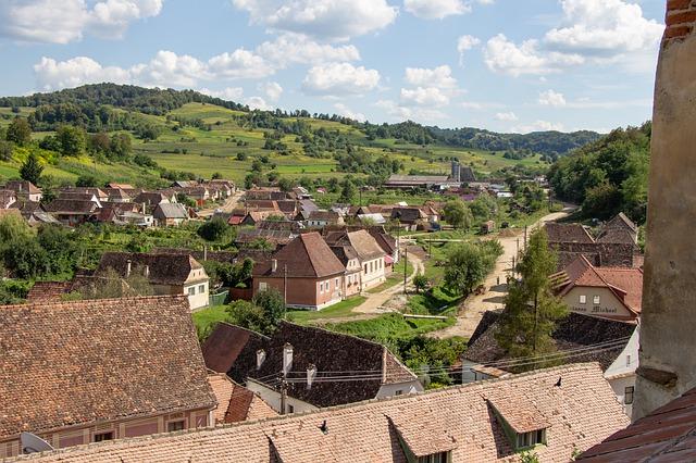 Biertan Village in Sibiu county