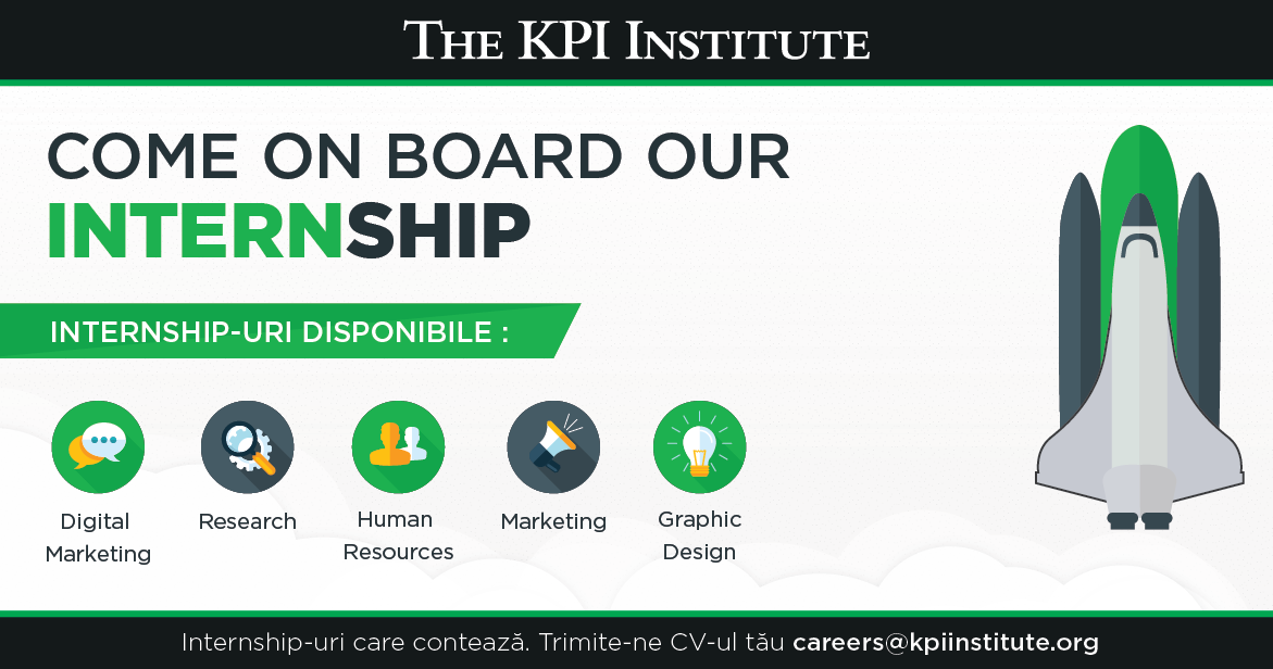 The KPI Institute Internship Banner pentru facebook