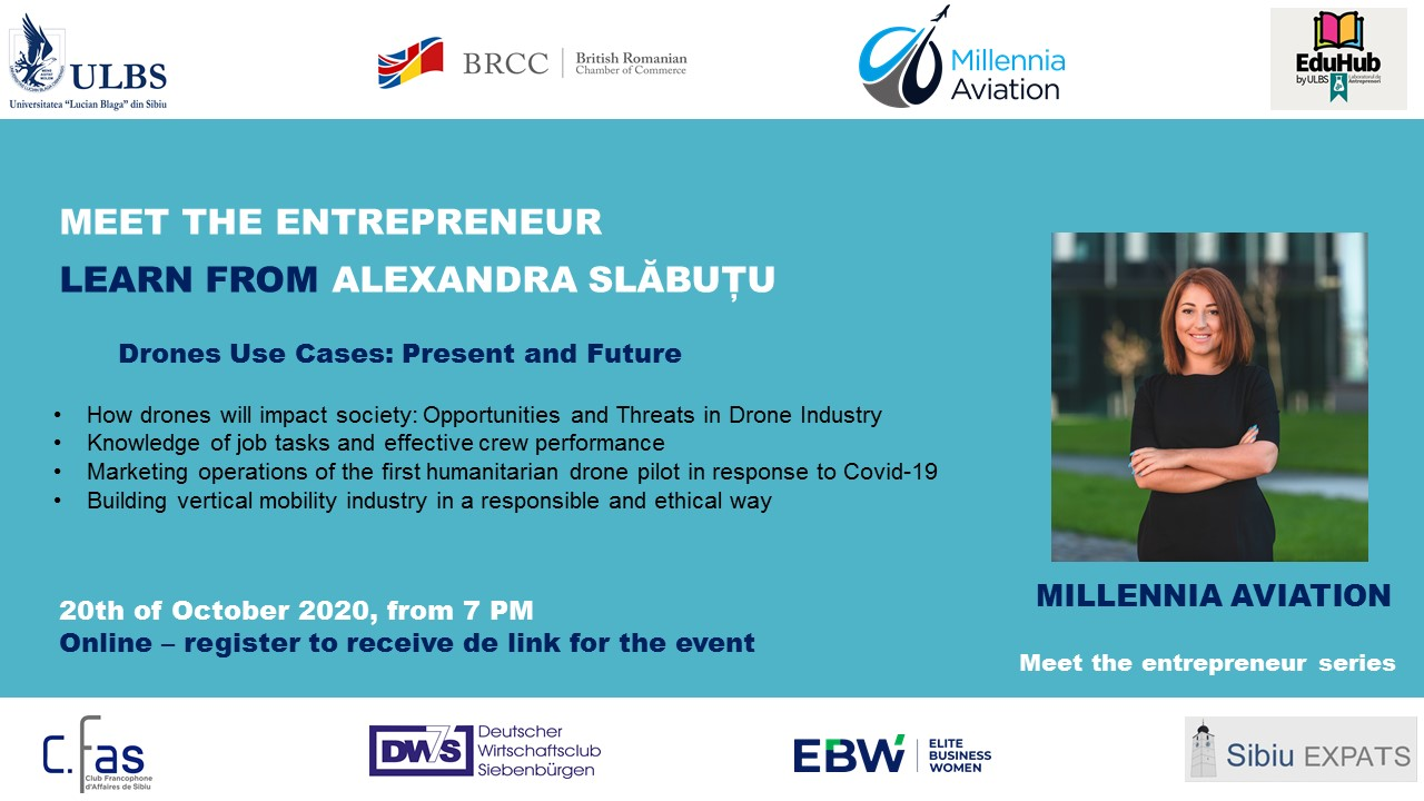 event Meet the entrepreneur Alexandra Slabutu